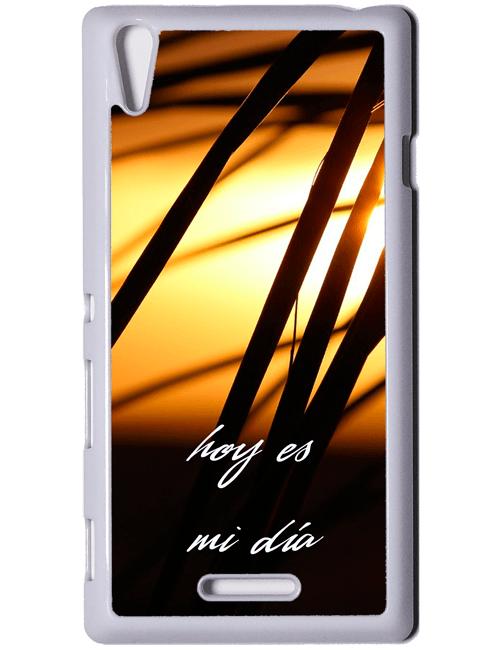 Carcasa personalizable Sony Xperia T3 blanca