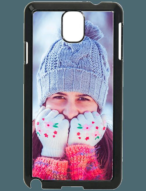 Carcasa personalizable Samsung Galaxy Note 3 negra