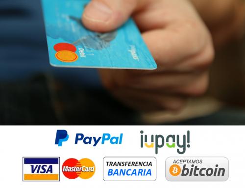 Aceptamos pago con Bitcoin