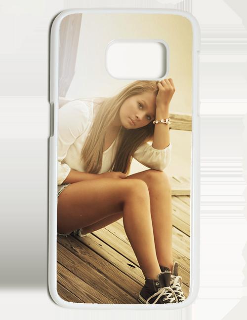 Carcasa personalizable Samsung Galaxy S7 Blanca
